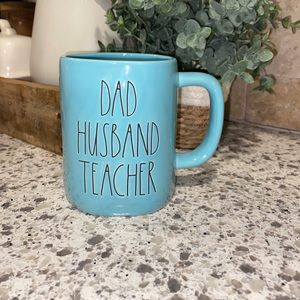 "Rae Dunn ""Dad Husband Teacher"" Mug"